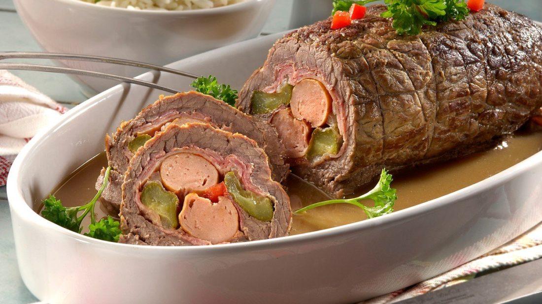 Pikantn hovz zvitky plnn ampiony a slaninou | alahlia.info