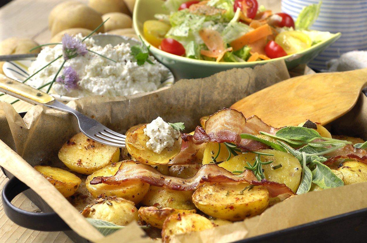 Brynza Potatoes