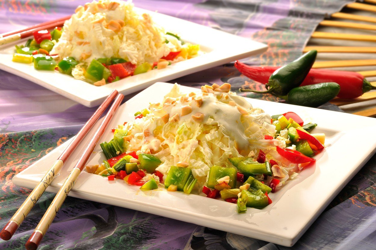 Orient Salad with Chinese Cabbage