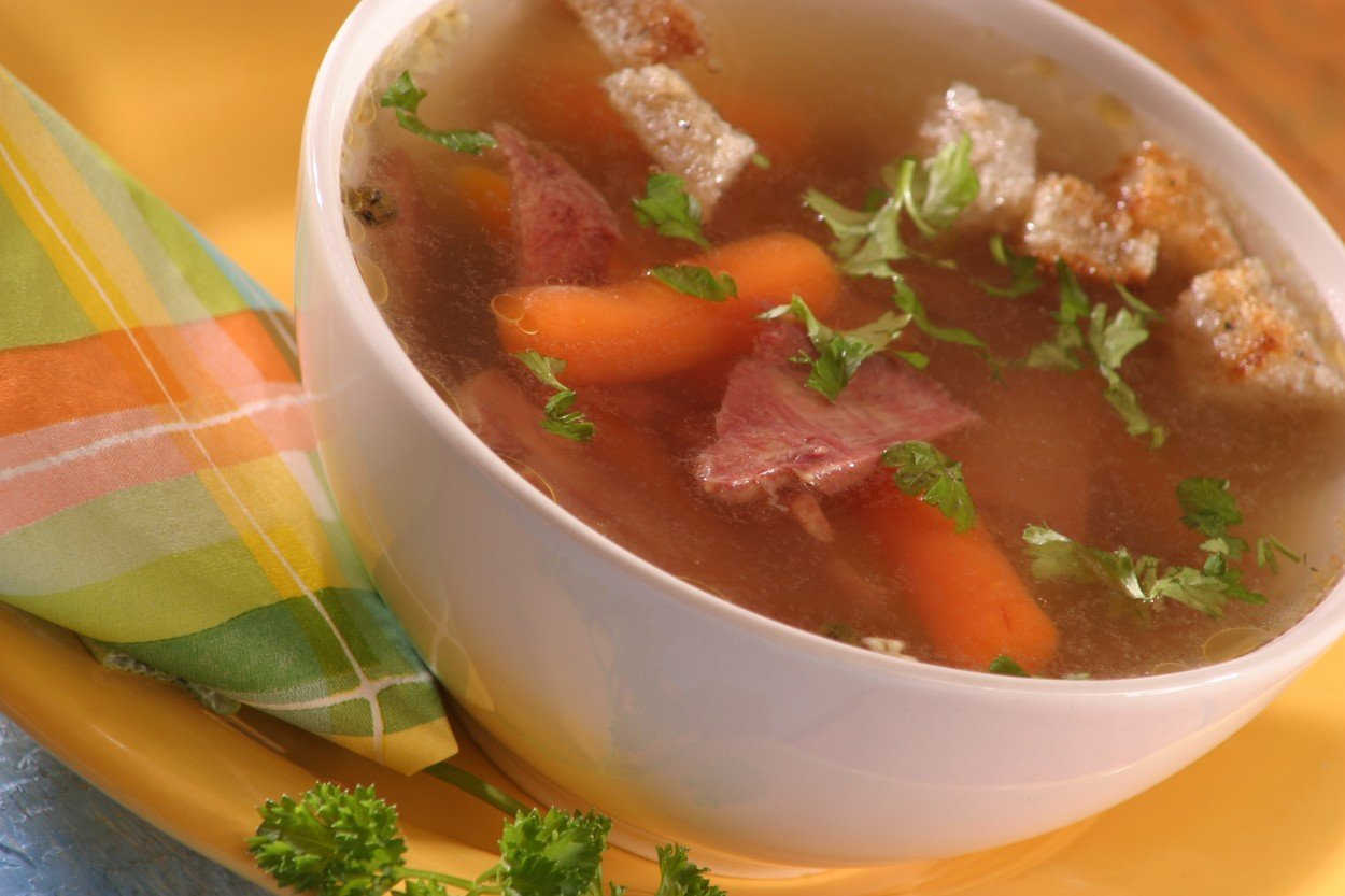 Smoked Tongue Soup