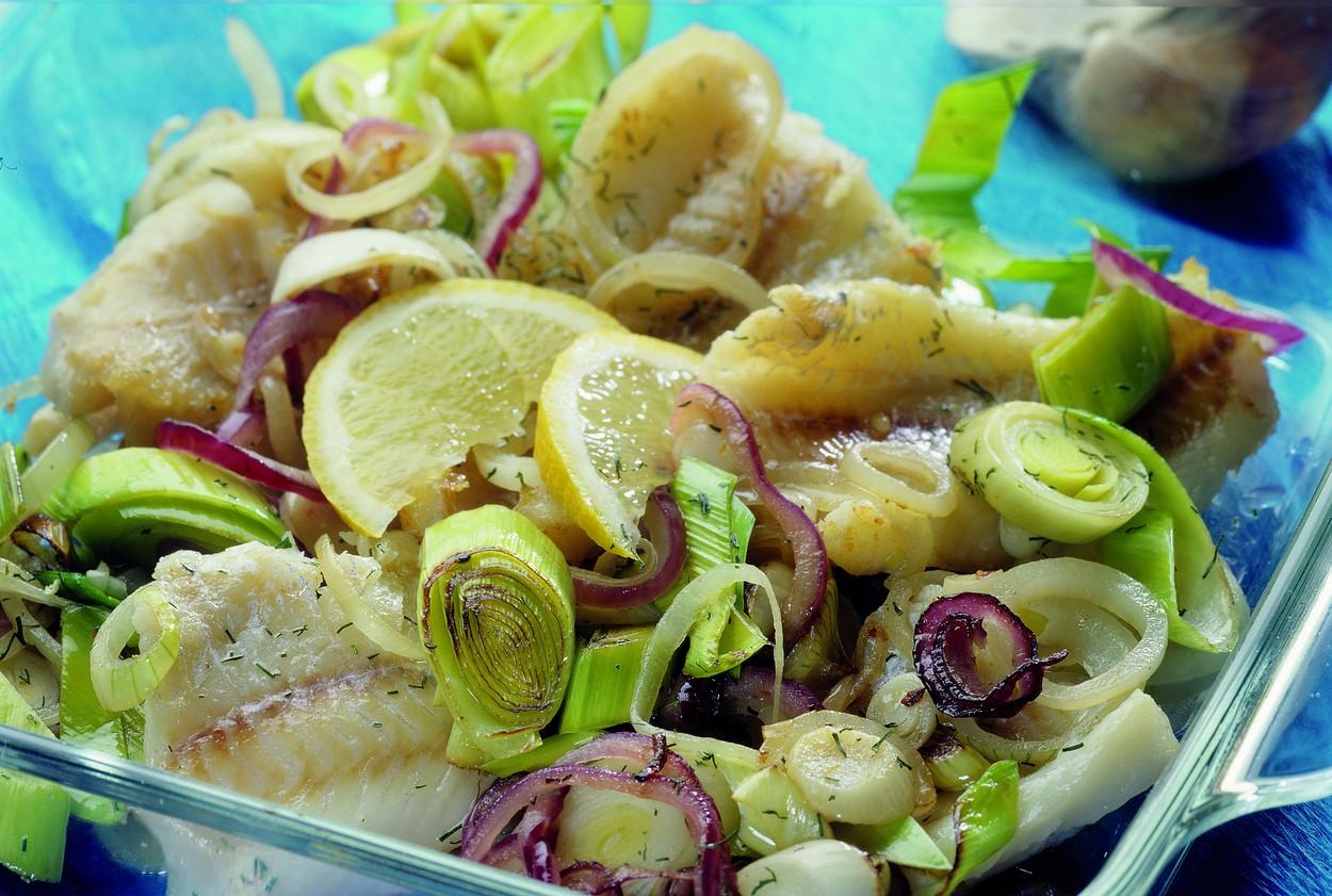Pečená ryba pošvédsku
